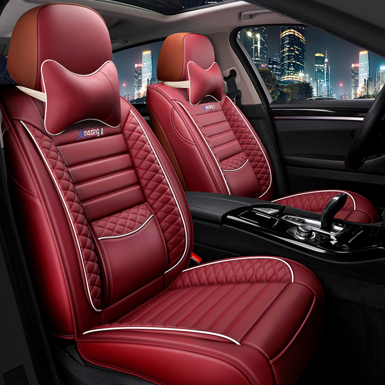 Car <font><b>seat</b></font> <font><b>cover</b></font> universal Leather for <font><b>mazda</b></font> <font><b>3</b></font> bk bl 2010 <font><b>cx</b></font> 7 <font><b>cx</b></font>-5 2013 6 2014 323 familia cx9 accessories <font><b>seat</b></font> <font><b>covers</b></font> for cars image