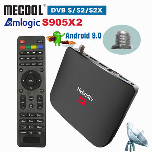Mecool M8S PLUS DVB S2/S2X Android 9.0 2GB 16GB Amlogic S905X2 WiFi 4K Hybrid TV Box PVR Recording Youtube Live Channel Console