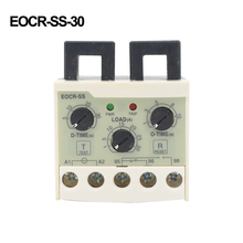 EOCR-SS 5-30A overload phase loss protection relay independently adjustable star