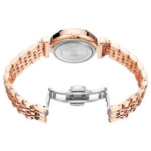 Image 3 - MINI FOCUS Women Watches Top Brand Luxury Fashion Ladies Watch 30m Waterproof Rose Gold Stainless Steel Reloj Mujer Montre Femme