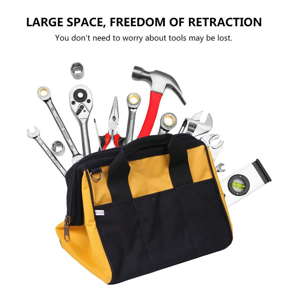 Multi-Functional Package Tool Hardware Kit Organizer Bag Belt Electrical Pockets Construction Packs Handbag Oxford Tool Bag