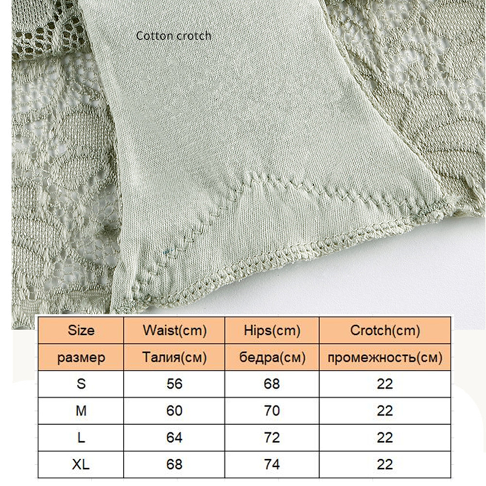 Boyshorts Seamless Sexy Lace Underwear For Women Panties Female Underwear With 100% Cotton Crotch New Sexy Lace Panties 2pcs/lot 2