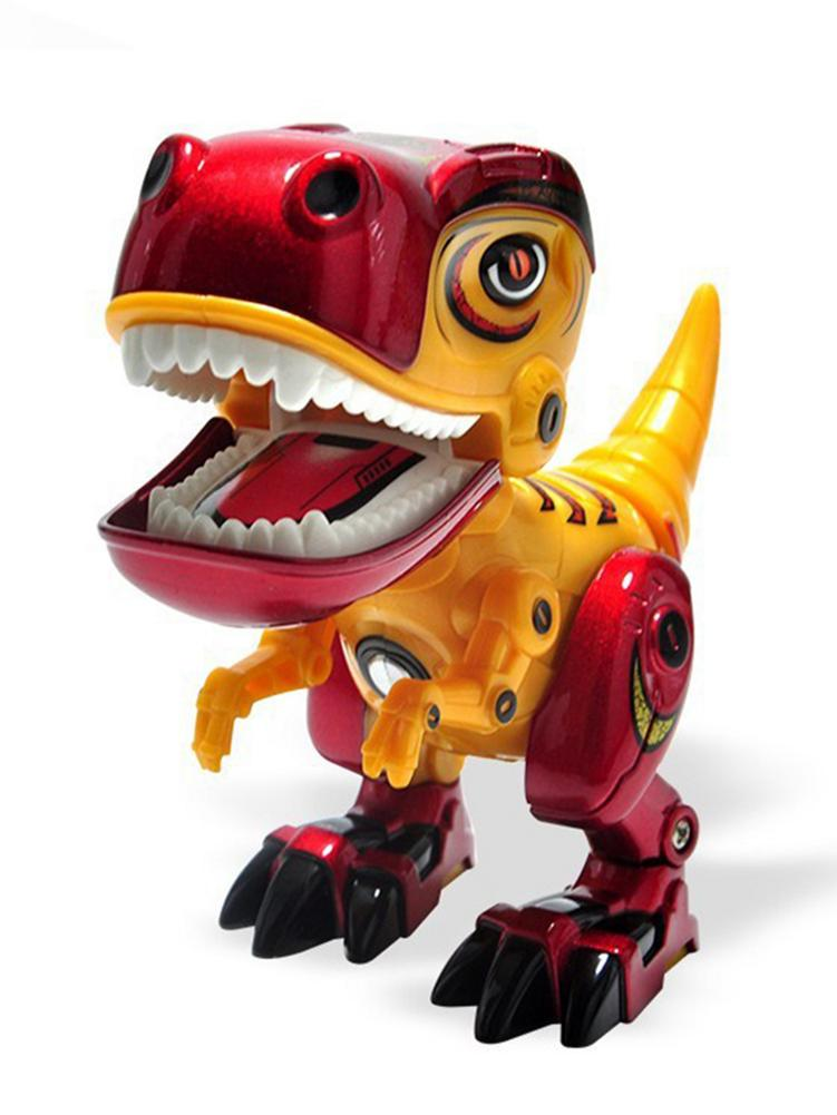 Electronic Alloy Dinosaur Toys Robot Interactive Educational Animal Toys For Children