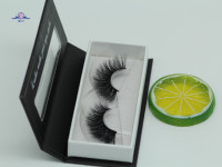 AGUUD WHOLESALE OME 100% Real Mink Eyelashes Pure Handmade Wispy Fluffy Long Lashes Natural Eye Makeup Tools Faux Eye Lashes