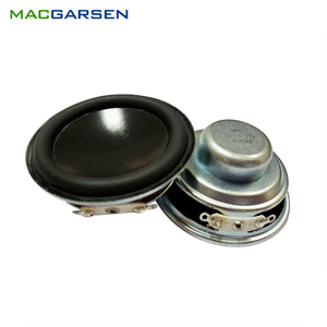 2 pçs alto-falante chifre 2 polegada alto-falante diy mini bluetooth speakeres 4 ohm 5w áudio gama completa à prova dsoundágua alto-falante pc soundbar 50mm