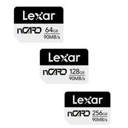 Cartão de memória original 256g de lexar nm de alta velocidade para huawei mate30/p30pro/nova5/20rs cartão de memória do telefone móvel
