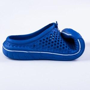 Image 3 - PUPUDA mokasen erkekler yaz plaj ayakkabısı açık rahat terlik erkekler ev hafif ev terliği erkekler ev terlikleri kadınlar