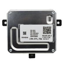 4G0907697F LED المصابيح الأمامية DRL 17pin 401140244 الصابورة 4G0907397F وحدة ل A6 A8 4G 28297180 سيارة المصابيح الأمامية