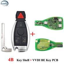 XHORSE VVDI BE Key Pro 4B dla Mercedes Benz V1.5 PCB zdalny układ poprawiona wersja inteligentny klucz 315/433MHz może wymienić MB BGA Token