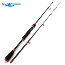 Alta qualidade 1.8m alça de madeira ultra leve haste de pesca de fundição de fiação m linha de energia wt.12-25lb isca wt 7-28g vara de pesca
