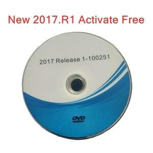 Image 5 - Yeni VD TCS 2017.3 2017R3 yazılımı dvd CD ücretsiz Keygen delphis 2017.1 araba ve kamyonlar