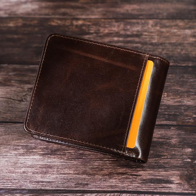 Genuine Leather RFID Men Wallet