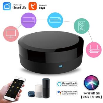 WIFI Universal Smart IR Control Hub Smart Home Blaster Infrared Wireless Remote Control Via Smart Life Tuya APP Work