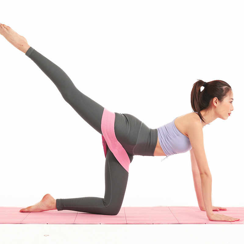 Widerstand gesäß latex Anti Slip elastische gesäß Hüfte kreis fitness Band Hüfte band squat Hüfte kreis yoga stretch band