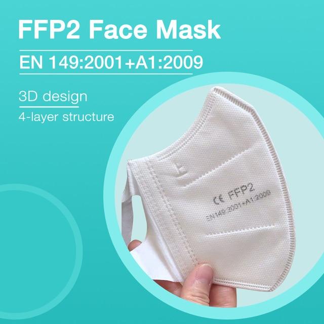 New NAFY CE2163 FFP2mask Filter Face FFP2 Masks Anti-Pollution Non-disposable Protective Masks Dust Filter Safety Mask 1