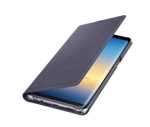 Image 4 - סמסונג המקורי Led חכם טלפון מקרה צפה בכיסוי לסמסונג גלקסי הערה 8 Note8 N9500 N9508 SM N950F מגן חזרה טלפון מקרה