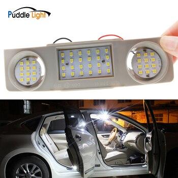 цена на LED Fornt/Rear Map Dome Light Ceiling For VW Golf Plus/4/5/6 Jetta Passat Scirocco Sharan Tiguan Touran Interior Reading Lamp