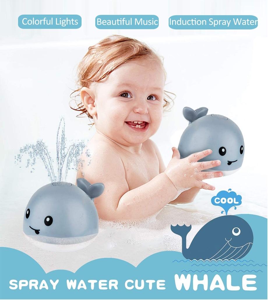 Willie The Sprinkler Whale Bath Toy
