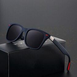 2020 BRAND DESIGN Classic Polarized Sunglasses Men Women Driving Square Frame Sun Glasses Male Shades Goggle UV400 Oculos De Sol