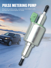 Calentador de aire diésel para coche, bomba para calentadores Webasto Eberspacher, calentador de aire, medidor de pulso, bomba de combustible de aceite, 12V/24V 2KW - 6KW
