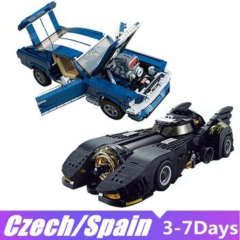 Lepin blocks 21047 7144 Building Blocks Bricks Lepining Technic Car Creator Expert Ford Figure 10265 Mustang King Toys for Boys 1