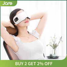 Jare 3D Wireless Blue-Tooth Vibration Heating Luxury Eye Massager