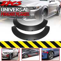 New 2Piece Car For Fender Flares Wheel Arches Decor Universal For Cars Body Kits Mud Splash Guard For BMW For Benz For Ford