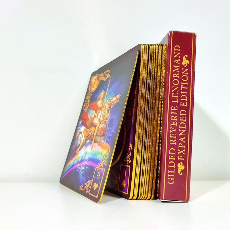 Resultado de imagem para Gilded Reverie Lenormand bordas douradas