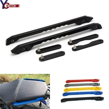 For Yamaha MT09 MT-09 FZ09 FZ MT 09 2014 2015 2016 Motorcycle Accessories CNC Rear Passenger Seat Hand Handle Grab Bar Rail