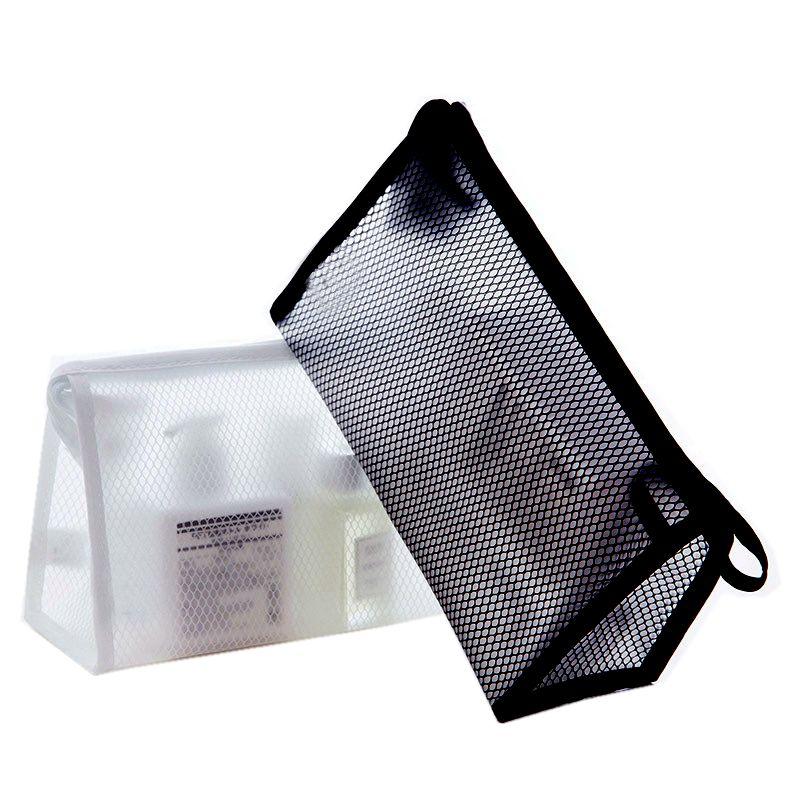 Fashion EVA Grid Travel Cosmetic Bag Men Portable Waterproof Makeup Case Wash Beauty Organizer Toiletry Women Make Up Kit Box