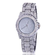 Luxury diamond-studded steel band watch high end fashion Couple