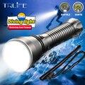 Weiß Gelb Unterwasser Taschenlampe XHP70.2 Dive Taschenlampe Professional Ultra Leistungsstarke XHP70 Wasserdicht Tauchen Scuba XHP50 Dive Lampe|Taschenlampen|   -