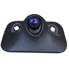 Car Rear View Camera Mini HD Night Vision 170 Degree Front Camera Front View Side Reversing Backup Camera 2 LED(China)