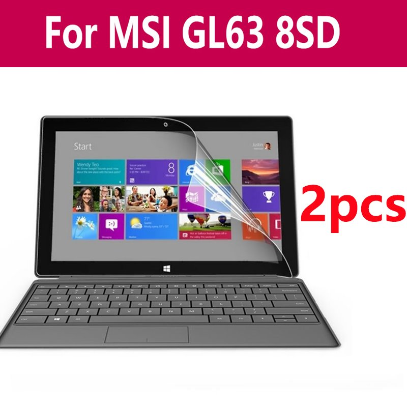 High Clear Hd Laptop Notebook Screen Protector Protective Guard Film Sticker For Msi Gs65 8re