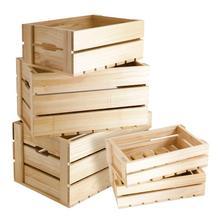 Горячие продажи изысканный деревянный ящик для хранения домашнее хранение разного организации рамка кухня и овощной ящик для хранения фруктов