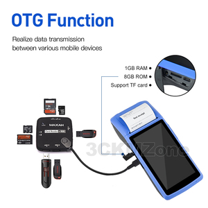 Image 4 - Terminal de mano Wifi POS dispositivo PDA, impresora térmica Bluetooth 58mm, NFC, Bluetooth, sistema POS inalámbrico, Loyverse POS