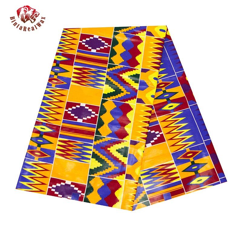 African Fabric Ankara Wholesale 2020 African Kente Print Cotton African Wax Fabric Bridal Wedding Dresses for women  24FS1381
