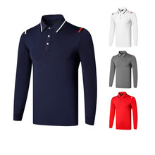 Horse Riding Polo Shirt Men Clothes Equestrian Long Sleeve Top T Shirts English Style Slim Fit Sports Horse Back Rider Clothing