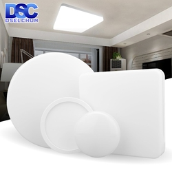 Ceiling Led Light Panel Round Surface Mount 48W 36W 24W 18W 13W 9W 6W Panel Light AC 85-265V Ultrathin Square Ceiling Lamp