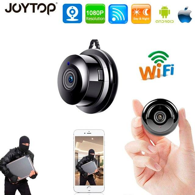 小さなP2Pフルhd 1080pミニワイヤレスwifi ipカメラナイトビジョンミニビデオカメラキットホームセキュリティcctvマイクロカメラwirless