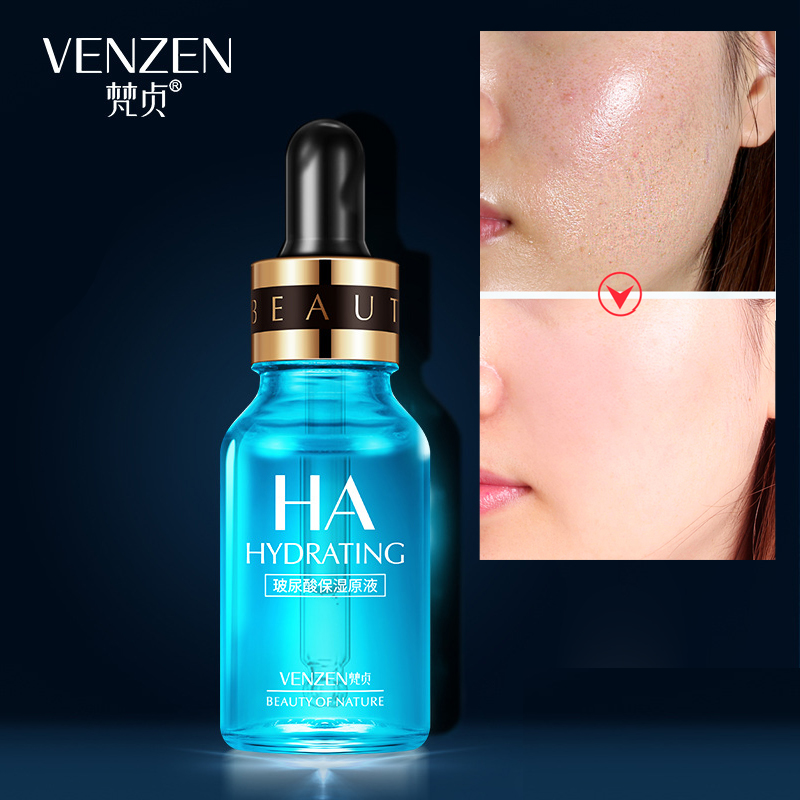 VENZEN Hyaluronic Acid Serum Moisturizer Face Essence Lifting Firming Whitening Anti-aging Cream Acne Treatment Facial Skin Care