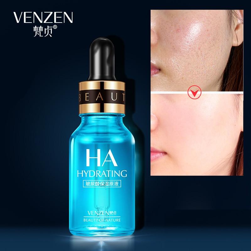 VENZEN Hyaluronic Acid Serum Moisturizer Face Essence Lifting Firming Whitening Anti-aging Cream Acne Treatment Facial Skin Care