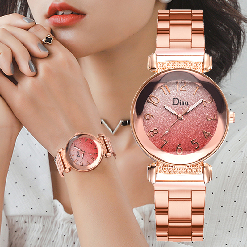 Luxury Brand Ladies Steel Band Wrist Watches Women Prism Quartz Watch For Female Clock Reloj Mujer 2019 Relogio Feminino