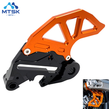 For Husqvarna 250 450 TC FC CNC Caliper Support Rear Brake Disc Protector Guard For KTM 125 200 250 390 450 530 SX SXF EXC XC XC