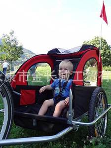 Baby-Stroller Bicycle-Trailer Jogger Bike-Tandem with 20inch-Wheels-Fold Kids