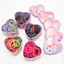 CN Hair Accessories 50Pcs/Pack Scrunchies for Girls Colorful Elastic  Gum For Ponytail Holder