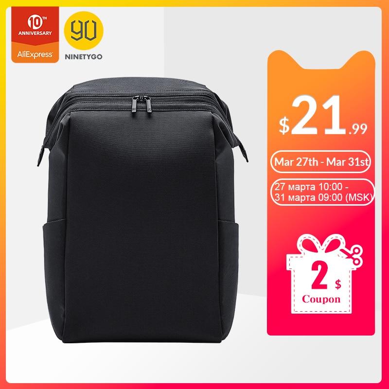 NINETYGO 90FUN MULTITASKER Backpack 15.6 Inch Laptop Bag Anti-theft Zippers 20L Trip Travel Daypack For Men Women School
