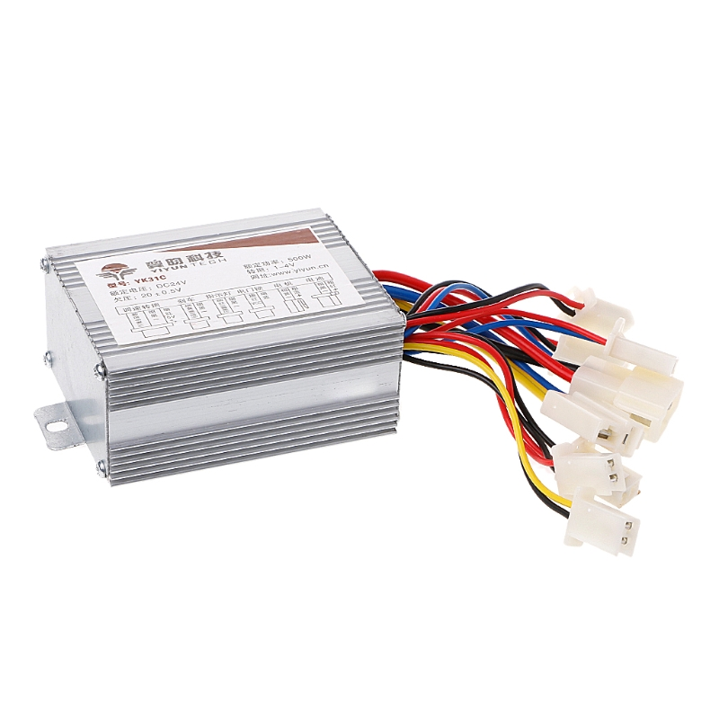 Brushed Controller Module 36V 500W for Motor Bike Electric Bicycle Scooters Tool