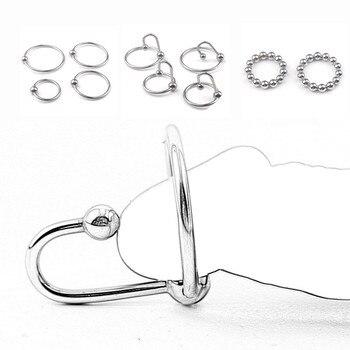 Metall Penis Cock Ring Bdsm Bondage sex Spielzeug für Männer 1