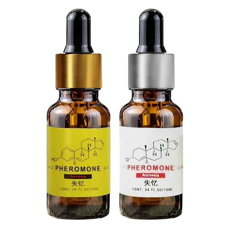1pc huile de parfum musc blanc de qualité supérieure-phéromone forte 10ml pour femmes et hommes